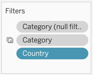 Category(null filter) added to context